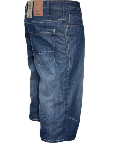 Jacks 50060 Long Short Jeans pour Hommes Med Vintage