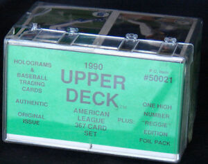 Details about 1990 Upper Deck Baseball Price Club Low Set ++ MLB