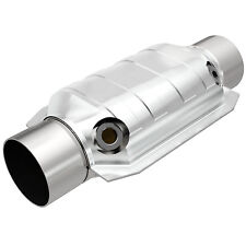 """Magnaflow 94169 Weld-On High-Flow Catalytic Converter Oval 3"""" In/Out w/ Dual O2"""