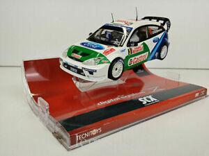 Slot Car Scx Digital System 13090 Ford Focus WRC Montecarlo 2005 Gardemeister