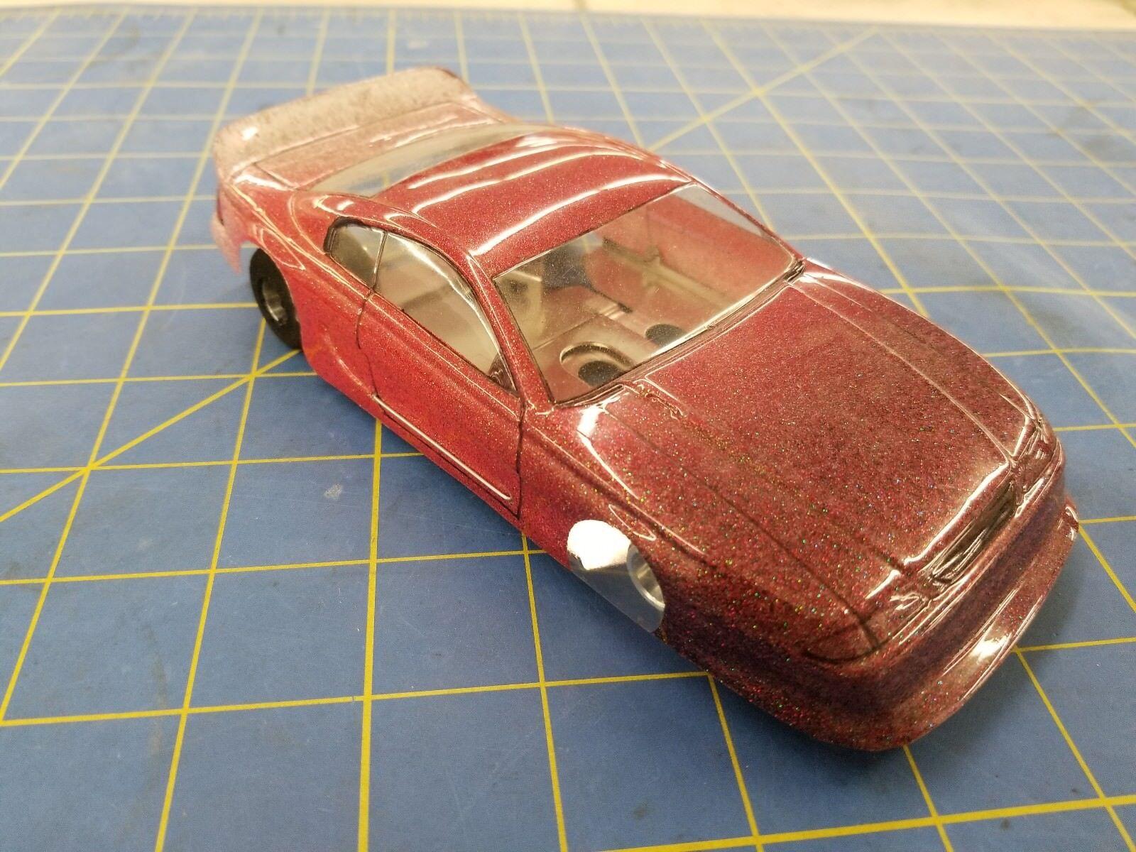 Nascar - rot glitzernden jk chettah w   et - 1   24 slot car mid america