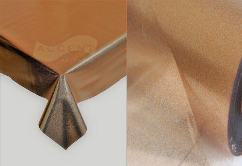 Luxe rectangulaire PVC huile Vinyle nappes Plain Imprimé nettoyage plastique