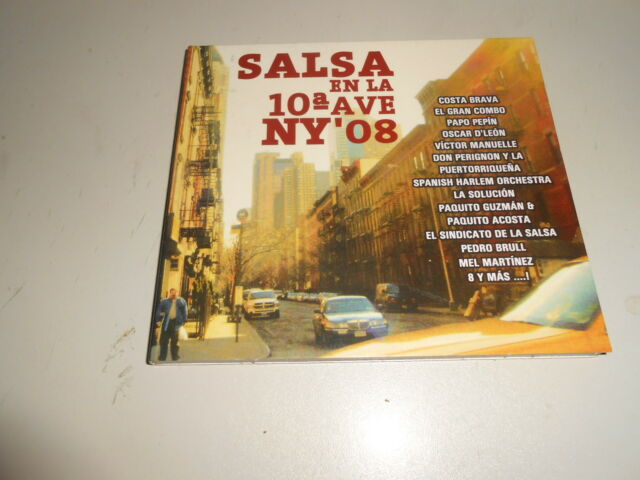 CD  Salsa en la Decima Av.N.Y.08