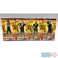 Super ONE PIECE Styling Figure FILM GOLD vol.1 x4 pcs set BANDAI Japan