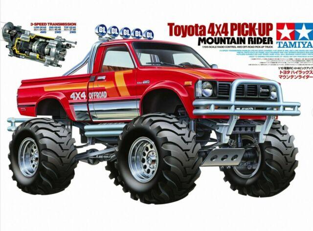 Tamiya 1:10 Toyota 4x4 Mountain Rider 19000359 Rims 2 Pieces TMR®