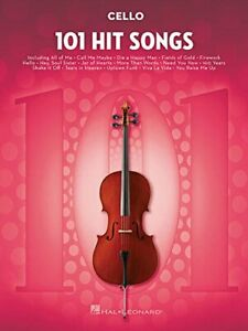 101-Hit-Songs-For-Cello-by-VARIOUS-New-9781495075377-Fast-Free-Shipping