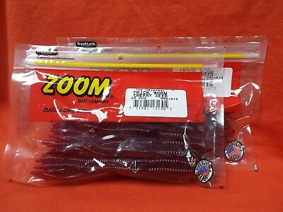 Red Zoom 006-018-SP Trick Worm Soft Bait