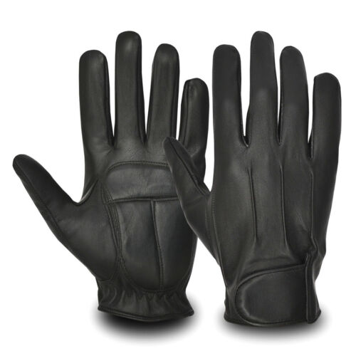 Mens Classic Retro Range of Driving Leather Gloves Top Quality  Car