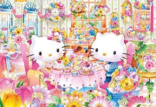Beverly 1000 stck puzzle hello kitty Blaumenhaus nachmittagstee