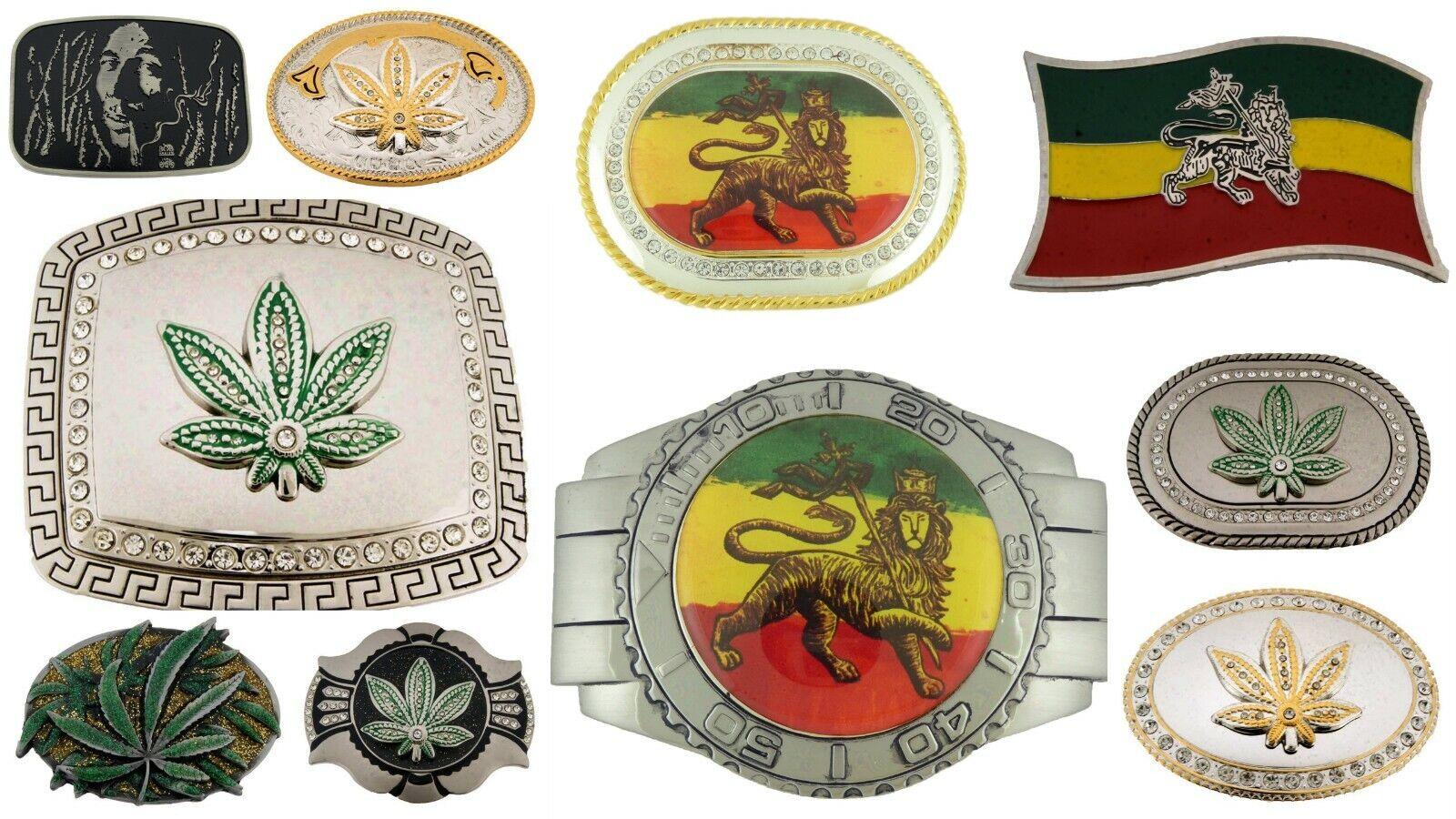 10Pcs Großhandel Gürtel Schnallen Reggae Judah Gotik Tattoo Tribal Herren Metall
