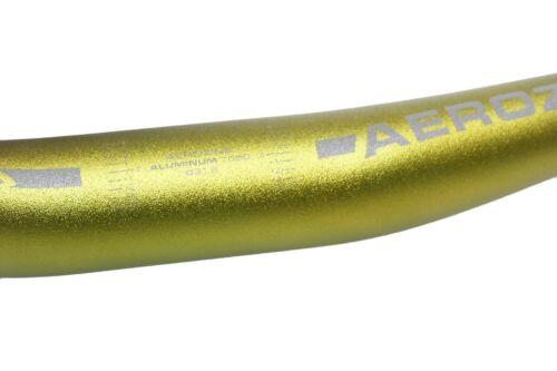 Aerozine XBR15 Mountain 29er E-Bike Bicycle Riser Handlebar 31.8m750mm Green