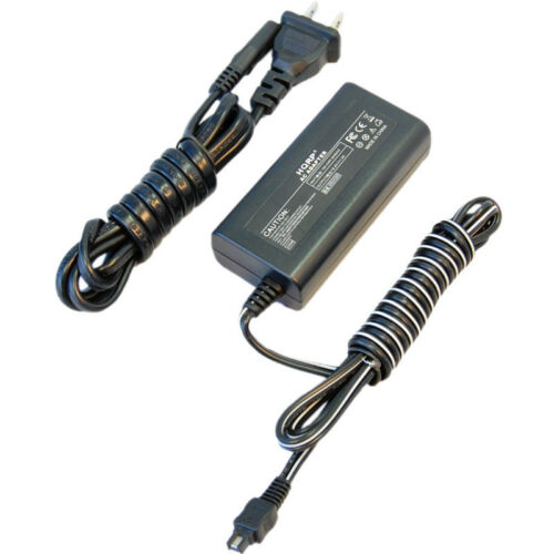 Hqrp Adaptador ca Cargador para Sony Handycam DCR-HC21 DCR-HC22E DCR-HC23E