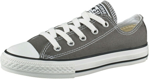 Converse Chuck Taylor Kids//Youth OX Low Trainers in UK Size 10,11,12,13,1,2