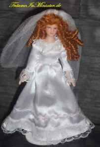 Puppe-Braut-Hochzeit-Massstab-1-12-Miniatur-f-d-Puppenstube-Puppenhaus-14