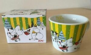 New Moomin Mug Tea Cup Limited Edition Sold at ONLY KFC Set of 3 JPN