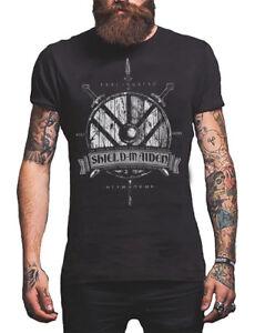 dbd0d7d1 Details about Viking Shield Maiden T-Shirt Norse Gods Men's Shirt