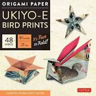 Origami Paper- Ukiyo-E Bird Prints - 8 1/4  Size - 48 Sheets: (Tuttle Origami Paper) by Tuttle Publishing (Hardback, 2016)