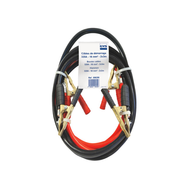 cable troubleshooting start-up PRO GYS 320A 16mm² length 3M Clamp pro brass pure
