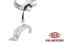 New Genuine Kia Sorento 2018 Front /& Rear Mudguards Mudflaps C5F46AK000//100