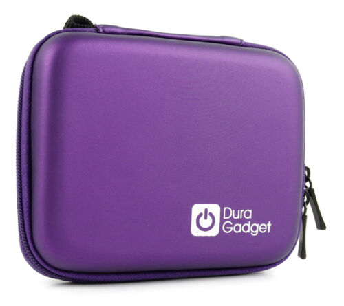 Hard Shell EVA Box-Style Case in Purple for Garmin Approach G5 G8 /& VivoFit 2