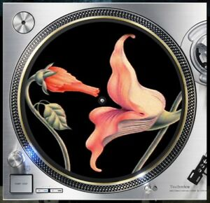 Pink floyd the wall flowers slipmat turntable 12 record player dj image is loading pink floyd the wall flowers slipmat turntable 12 mightylinksfo