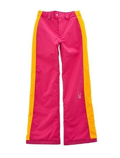 Spyder Mädchen Ski Snowboarding Nervenkitzel Athletik Passform Hose Hose Hose Größe 12 7643cc