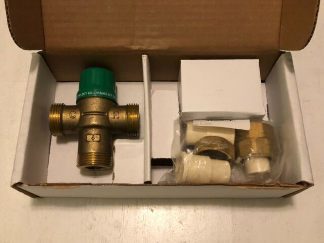 Taco 1 2 Cpvc Union 5120 Series Thermostatic Mixing Valve W Gauge Lead For Sale Online Ebay