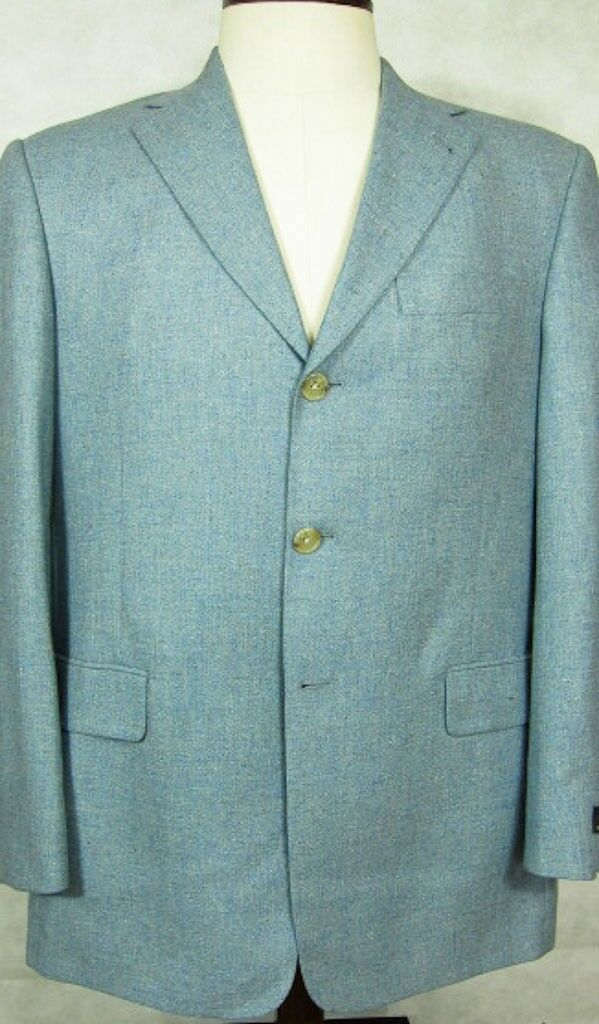 NWT Murano 100% Cotton Textured Brown Sport Coat Small 36R