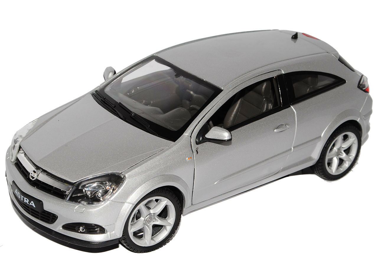 Opel Astra H GTC Coupe silver 2005-2010 2005-2010 2005-2010 1 18 Welly Modell Auto mit oder ohne i.. 8208fa