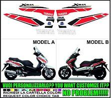 kit adesivi stickers compatibili xmax 125 250 400 2005 - 2009 50 anniversary