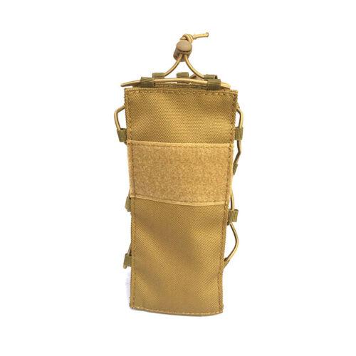 Adjustable Tactical Molle Water Bottle Carrier Holder Pouch Outdoor Kettle Bag