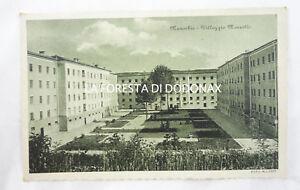 CARTOLINA-FOTO-MANERBIO-BRESCIA-VIAGGIATA-1934-VILLAGGIO-MARZOTTO