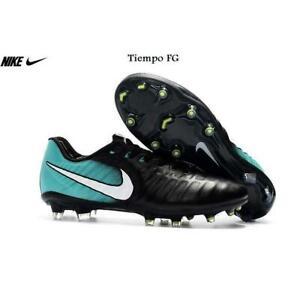 Nike Tiempo Legend VII FG Schwarz