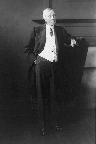 JOHN D ROCKEFELLER STANDING PORTRAIT 8x12 SILVER HALIDE PHOTO PRINT
