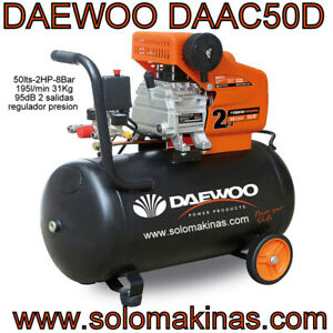 DAAC50D COMPRESOR ELECTRICO DAEWOO 2HP 50LTS SOLOMAKINAS