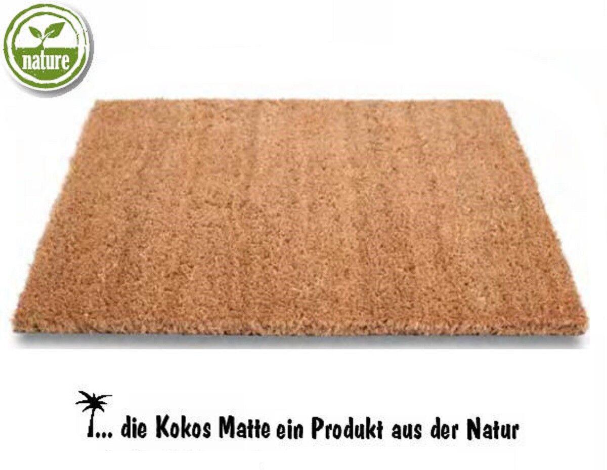 Tappetino DI COCCO Premium natura wunschmaß e ritaglio 17, 20, 24 e 30 mm altezza ⭐⭐⭐⭐⭐
