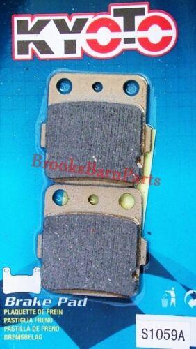 KAWASAKI KX 85//85-2 A1-A5//A6F//A7F//A8F//A9F//AAF//ABF2001-11 KYOTO REAR BRAKE PADS