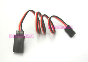 10-x-Servo-Extension-wire-Male-to-Female-connector-300mm-for-JR-Futaba-Walkera