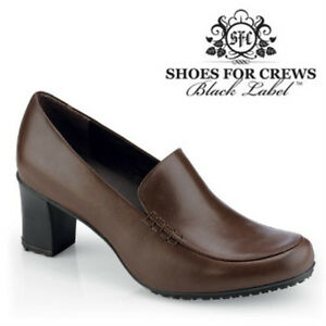 Sfc Shoes For Crews Jackie Braunes Leder Damen Schuhe 3716 Größe 5/35 Neu GroßEs Sortiment Damenschuhe Gesundheitsschuhe