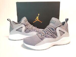 ef014187803914 Jordan Formula 23 Mens 881465 Cool Wolf Grey Mesh Basketball Shoes ...
