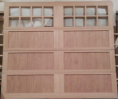 Wood Garage Doors Overhead Carriage House Design 9x8 AmanaDoors Model 103W16