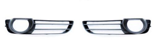 New Genuine AUDI Q7 2007-2009 S-Line Front Bummper Fog Light Grill Set Pair L+R