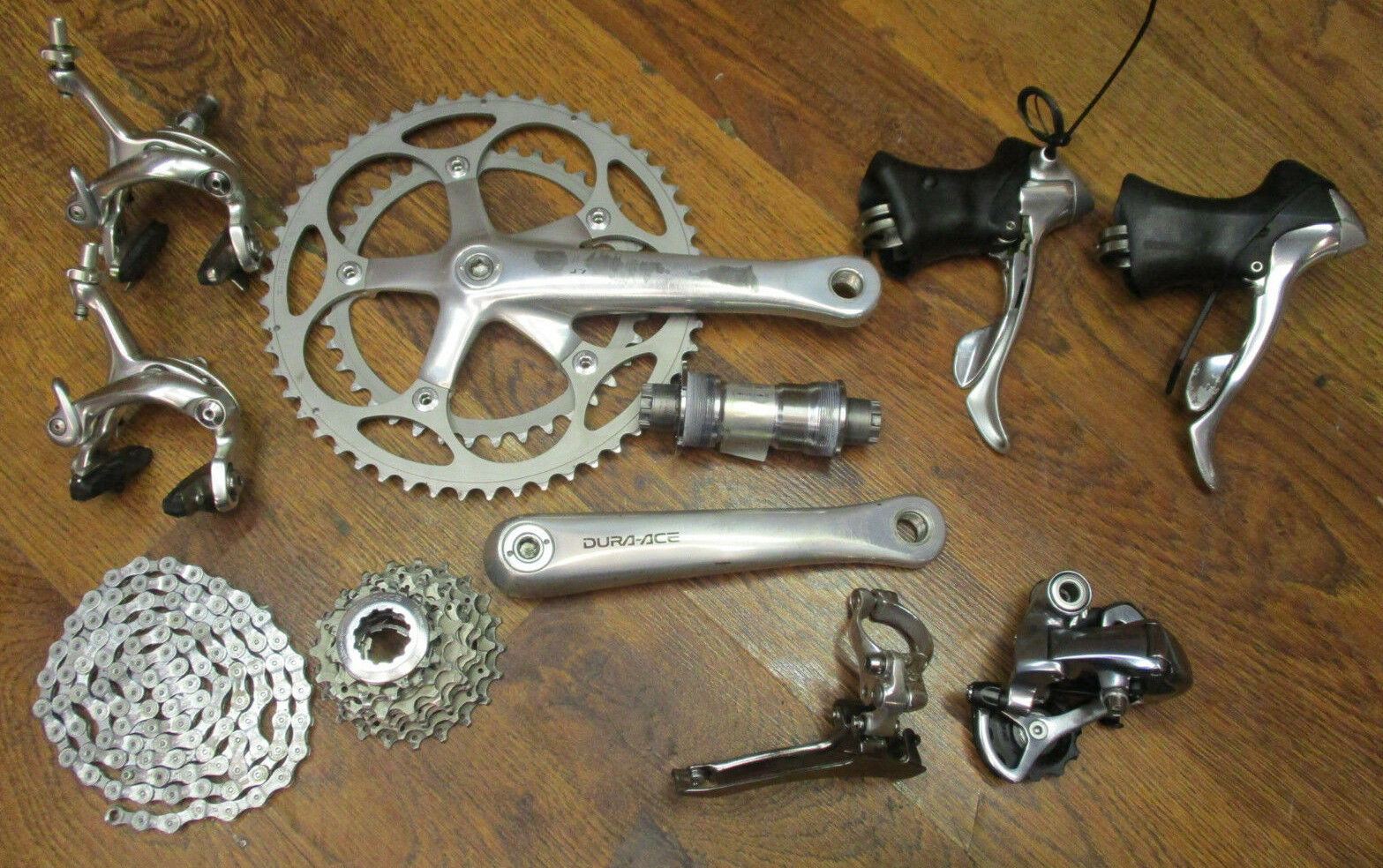 VINTAGE SHIMANO DURA ACE 7700  172.5L 53 39 GROUP GRUPPO BUILD KIT 9 SPEED DOUBLE  online store