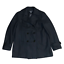 miniature 1 - New York & Company Womens Peacoat Double Breasted Black Jacket Wool Size 14
