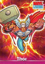 THOR / Marvel Legends (Topps 2001) Base Trading Card #10