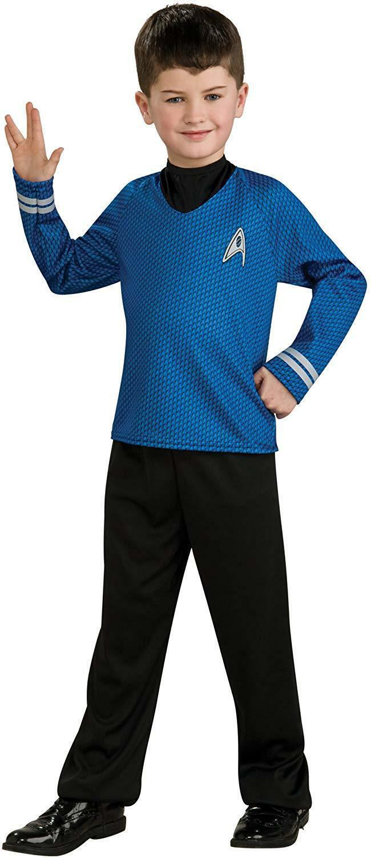 Spock - Star Trek - Childrens Fancy Dress Costume - Small - 117cm