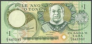 TONGA 1 Dollar