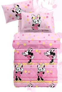 Trapunte E Piumoni Disney.Trapunta Invernale 1 Piazza E Mezza Minnie Colors Rosa Piumone Disney Caleffi Ebay