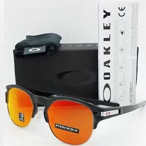 NEW-Oakley-Latch-Key-Sunglasses-Polished-Black-Ink-Prizm-Ruby-9394-04-AUTHENTIC
