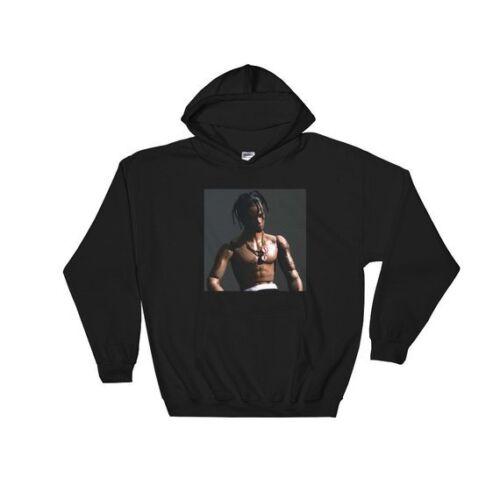 Travis Scott Rodeo Album Cover Hoodie Pullover Hooded Sweatshirt